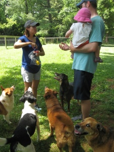 The Tribe gathers ... what we thought were treat were ... bubbles?? Really??/